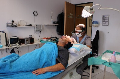 A relaxing day at the hair transplant clinic